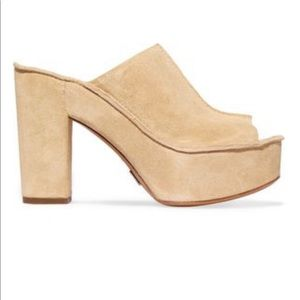 Michael Kors Collection Elsa Suede Platform Sandal